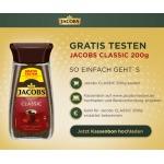 Jacobs Classic Instant-Kaffee gratis testen [Cashback-Aktion]