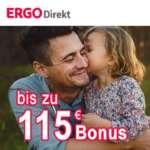 Ergo Direkt Risikolebensversicherung ab 2,75€/Monat + 115€ Amazon Gutschein