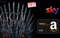 Sky Entertainment HD + 50€ Amazon