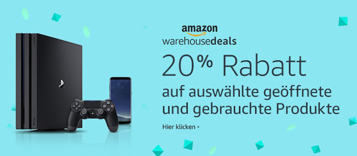 Amazon Warehouse Deals Gutschein