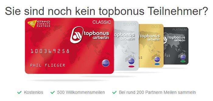 topbonus Status Card
