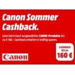 Canon Sommer Cashback Aktion