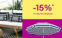 eBay Rabatt Aktion Garten & Terasse