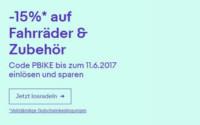 eBay Sommer WOW Wochen: Gutschein Fahrräder