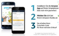 Amazon Shopping App Aktion
