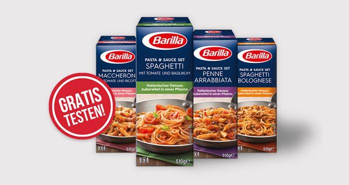 Barilla Pasta & Sauce Set gratis
