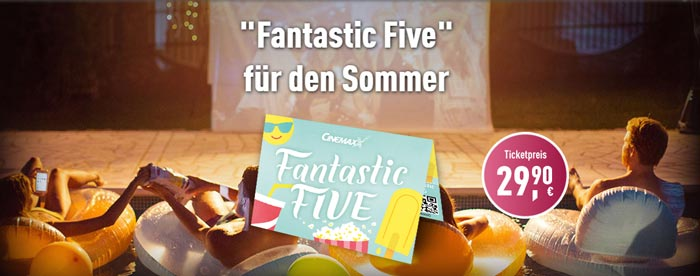 Cinemaxx Fantastic Five Ticket