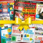Computer Bild mit DVD gratis