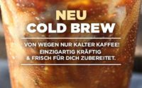 Dunkin Donuts Cold Brew Coffee