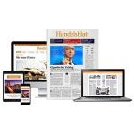 4 Wochen Handelsblatt Premium Abo (digital) für 1€