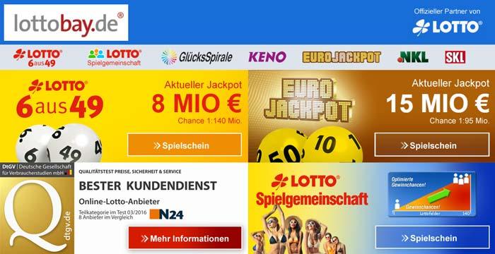 Lottobay Gutschein für Bestandskunden