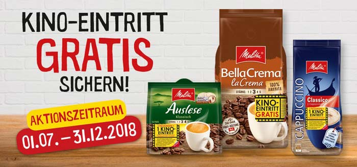 Melitta Entertainmentpromotion 2018