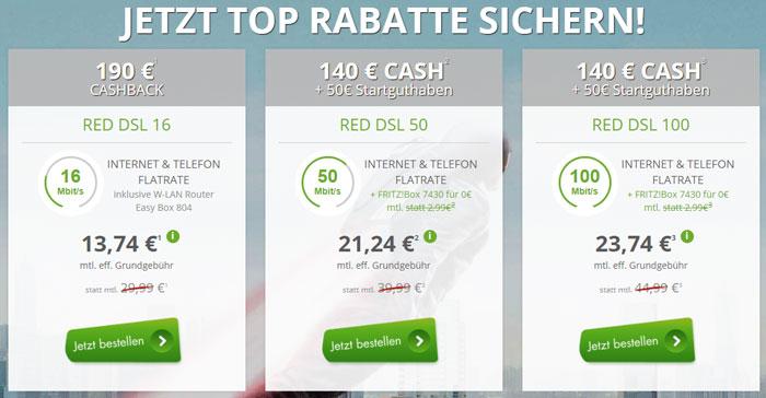 Vodafone DSL Cashback