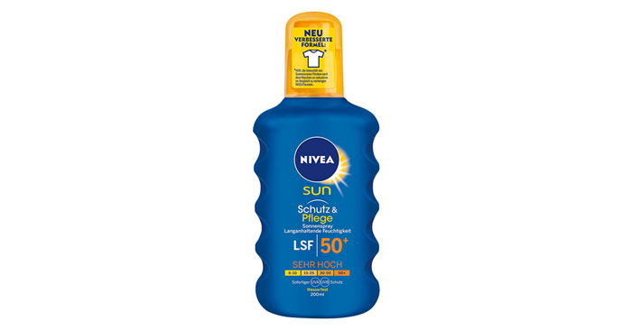 NIVEA Sun Schutz & Pflege Sonnenspray