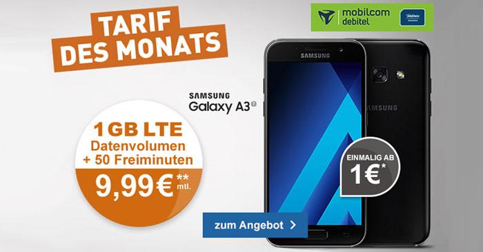 o2 Smart Surf Tarif + Galaxy A3