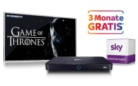3 Monate Sky Entertainment gratis