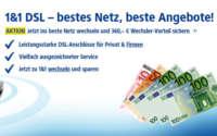 1&1 DSL Wechsler-Angebot
