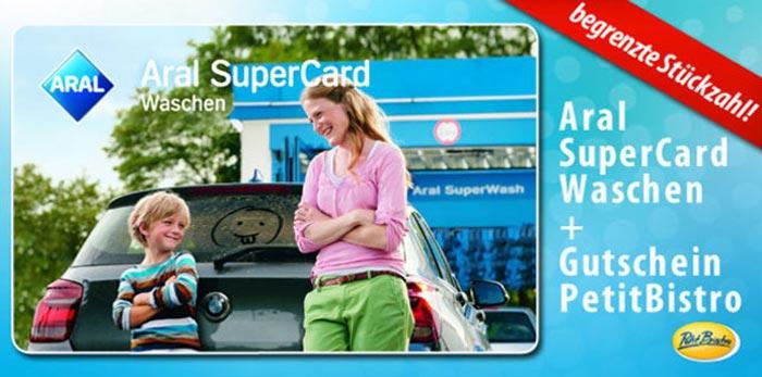 ARAL SuperCard Waschen