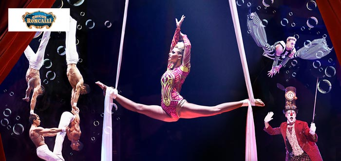 Tickets für den Circus Roncalli