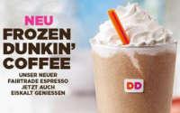 Dunkin Donuts Frozen Drink gratis