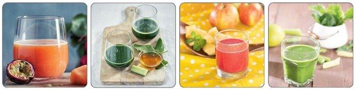 Entsafter Smoothie Ideen