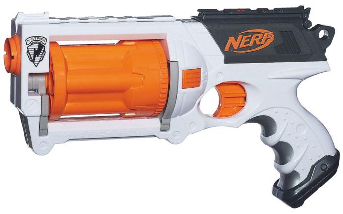 Hasbro Nerf N-Strike Maverick REV-6 Blaster