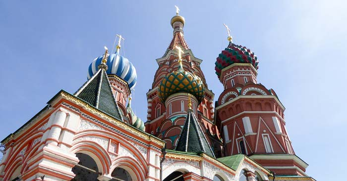 Hin- und Rückflug von Köln nach Moskau