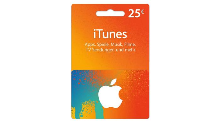 20% Rabatt auf iTunes Guthaben