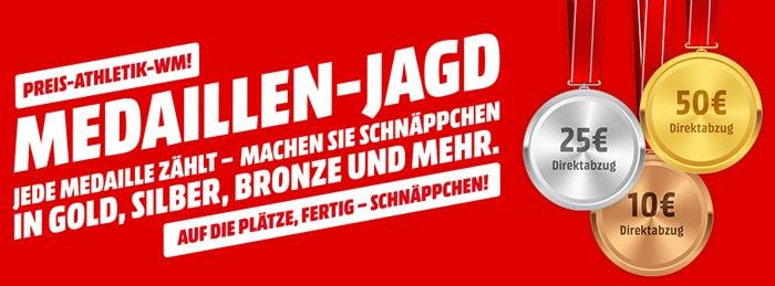 Media Markt Medaillen-Jagd