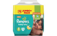 Pampers Baby Dry Jumbo+ Windeln
