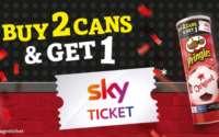 Pringles Aktionsdosen Sky Ticket