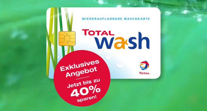 Total Waschkarten Gutscheine