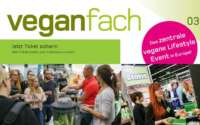 Gutschein für kostenlose Tickets für die veganfach Messe