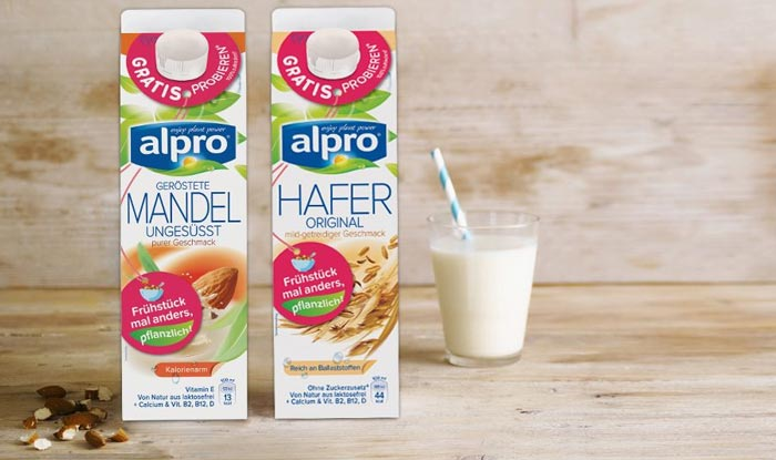 Alpro Drink gratis