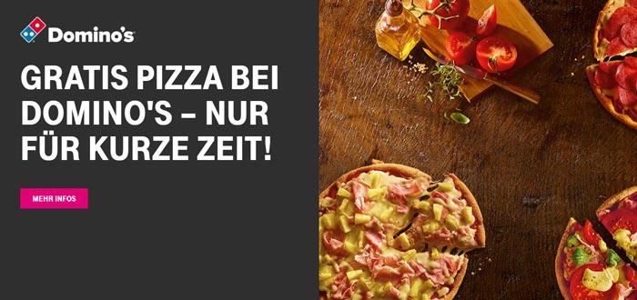 Gratis Pizza bei Dominos für Telekom Kunden