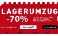 Intersport Lagerumzug