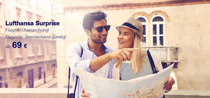Lufthansa Surprise Booking