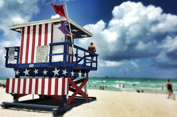 Hin- und Rückflug nach Miami