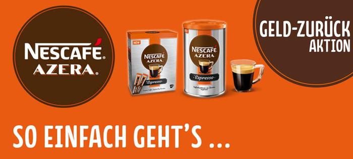 Nescafé Azera Typ Espresso Instant-Kaffee