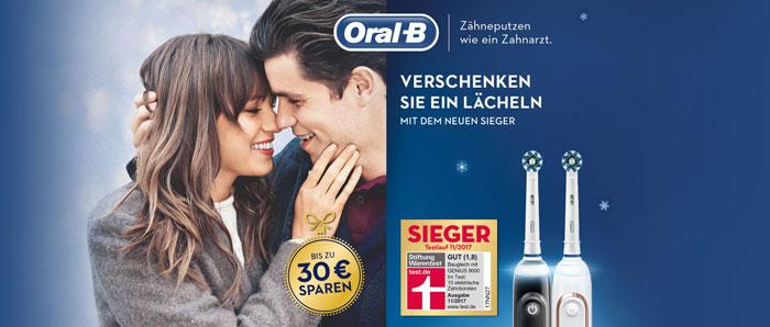 Oral-B Cashback Aktion