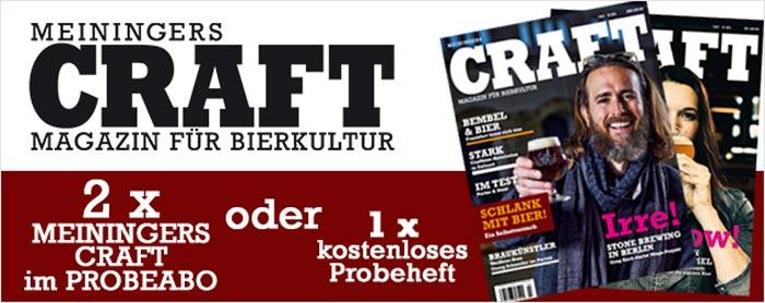 Probeheft Meiningers Craft Zeitschrift