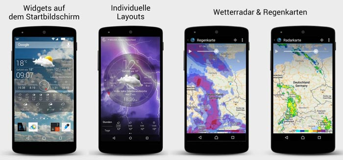 Wetter Live App