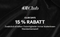 H&M Club Days