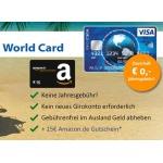 ICS Visa World Card Amazon Gutschein