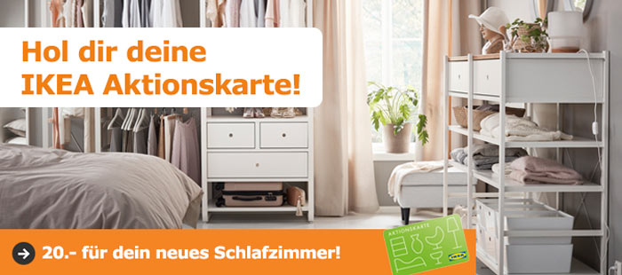 ikea schlafzimmer aktion 20 ikea gutschein je 150 einkaufswert. Black Bedroom Furniture Sets. Home Design Ideas