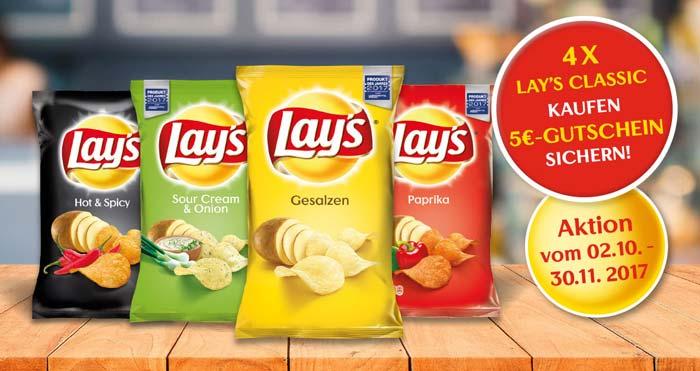 Lay's Chips Supermarkt Gutschein
