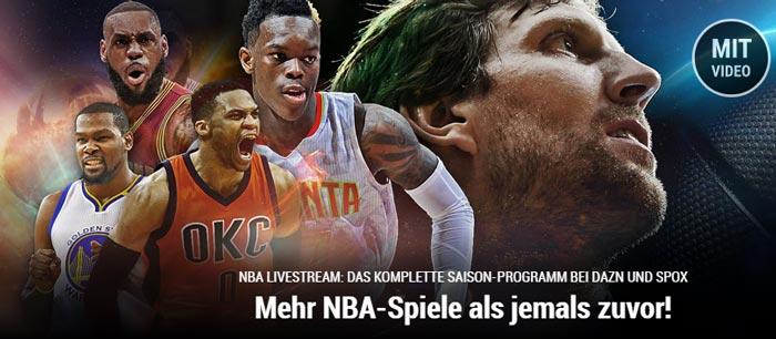 Kostenloser NBA Live Stream