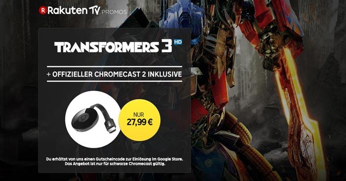 Google Chromecast 2 Rakuten.tv