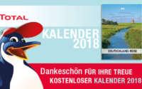 Kostenloser TOTAL Kalender 2018