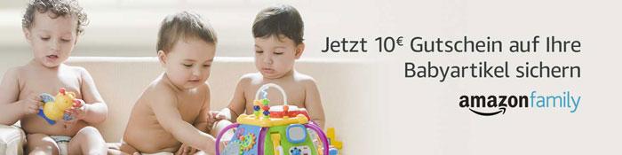 Amazon Gutschein für Babyartikel